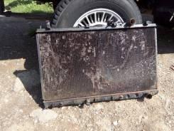 Радиатор охлаждения двигателя. Mitsubishi Eterna, E34A Mitsubishi Galant, E34A Двигатель 4D65