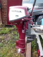 Honda. 7,50л.с., 4х тактный, бензин, нога X (635 мм), Год: 1989 год