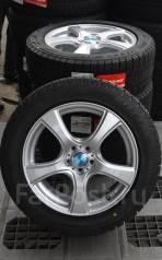 Новые Bridgestone Revo GZ 215/55R17 на Dunlop 5x100 ET48 Forester. 7.0x17 5x100.00 ET48 ЦО 73,1мм.