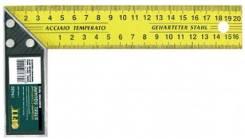 Угольник FIT Профи, столярный, желт, 200мм