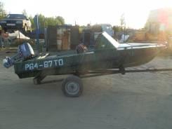 Обь-М. Год: 2012 год, длина 4,00м., двигатель подвесной, 30,00л.с., бензин. Под заказ