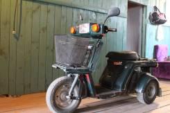 Honda Gyro X. 49 куб. см., исправен, без птс, с пробегом