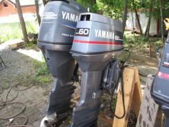 Yamaha. 60,00л.с., 2х тактный, бензин, нога X (635 мм)