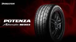 Bridgestone Potenza RE003 Adrenalin. Летние, 2016 год, без износа, 4 шт