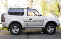 Наклейка. Toyota Land Cruiser Prado