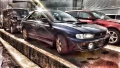 Механическая коробка переключения передач. Subaru Impreza WRX, GC8