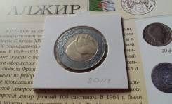 Алжир. 100 динаров 2011 года. Лошадь. Большая красивая монета!