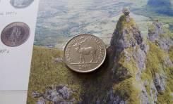 Маврикий. Пол рупии 2007 года. Фауна.