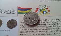 Маврикий. 1 рупия 1993 года.