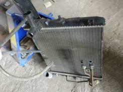 Радиатор охлаждения двигателя. Mitsubishi Minica, H42V Двигатель 3G83