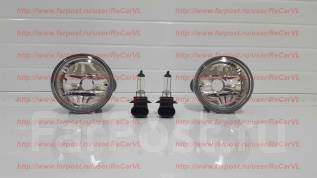 Стекло противотуманной фары. Toyota Yaris, NCP12, NCP11 Двигатели: 1NZFE, 2NZFE