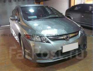 Обвес кузова аэродинамический. Honda Civic, EF3, EG3, EK3, EP3, EU3, FD1, FD2, FD3, FK3, FN3 Двигатели: B16A3, D13B3, D14A3, D14Z3, D15B3, D15Y3, D15Z...