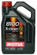 Motul 8100 X-Clean. Вязкость 5W-30