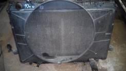 Радиатор охлаждения двигателя. Toyota Land Cruiser, FJ80G Двигатель 3FE