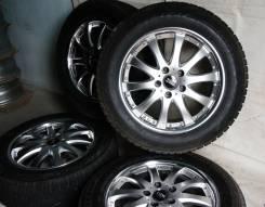 Зимний комплект колес 215/60R17 Bridgestone Revo2 + TMW R17 5x114. 7.0x17 5x114.30 ET48 ЦО 72,0мм.