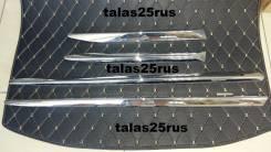 Молдинги дверей Lexus LX450d 2016г. ( ХРОМ ) Качество Tomy. Lexus LX450d, URJ200