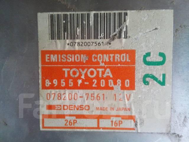 Блок управления двс. Toyota Corona, CT170 Двигатель 2C