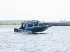 Николь-Н Хантер. Год: 2012 год, длина 7,90м., двигатель подвесной, 200,00л.с., бензин