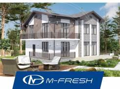 M-fresh Santa Monica (Проект дома с 5 комнатами! Вам подойдет такой? ). 200-300 кв. м., 2 этажа, 5 комнат, бетон