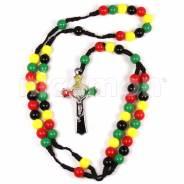Ожерелье Rasta. Крест