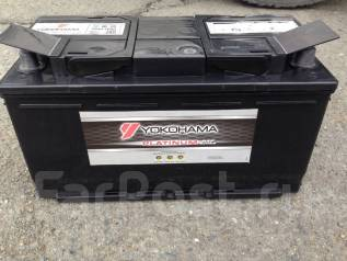 Yokohama Batteries. 100 А.ч., Обратная (левое), производство Япония. Под заказ