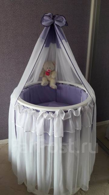 Юбка для кроватки круглые