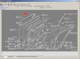 Накладка на боковую дверь. Nissan Infiniti G35/37/25 Sedan Nissan Skyline, NV36, KV36, PV36, V36 Двигатели: VQ25HR, VQ35HR, VQ37VHR. Под заказ