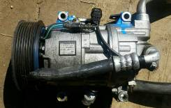 Компрессор кондиционера. Honda Stepwgn, RG1, RG2, RG3, RG4 Двигатели: K24A, K20A, K20A K24A