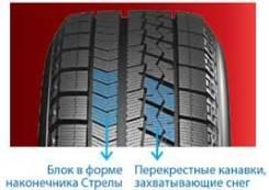 Bridgestone Blizzak VRX. Зимние, без шипов, без износа, 4 шт