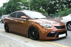 Обвес кузова аэродинамический. Hyundai Avante, MD Hyundai Elantra, MD