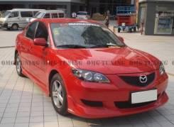 Обвес кузова аэродинамический. Mazda Mazda3, BK