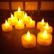 Свечи светодиодные.