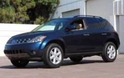 Nissan Murano. ПТС 2003г, 3,5 синий