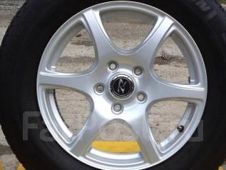 Комплект диски Weds Treffer с зимней резиной 205/60/R16. 6.5x16 5x114.30 ET55 ЦО 73,0мм.