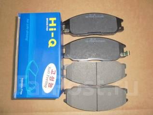 Колодка тормозная. Toyota Regius Ace, TRH124 Toyota Hiace, TRH124, TRH124B Kia Sorento Hyundai Santa Fe Двигатель 1TRFE
