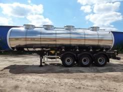 Vologdamash. Полуприцеп цистерна пищевая автоцистерна молоковоз , 27 300 кг.