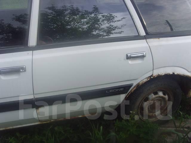 Дверь левая задняя Subaru Leone