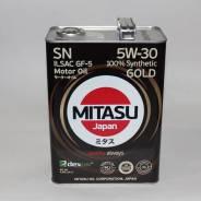 Mitasu. Вязкость 5W-30, синтетическое