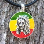 Оловянное украшение на шею Bob Marley кулон Rasta