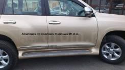 Накладка на дверь. Toyota Land Cruiser Prado, TRJ150W Двигатель 2TRFE