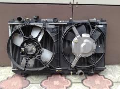 Радиатор охлаждения двигателя. Mazda Familia, BJ5W Двигатель ZL
