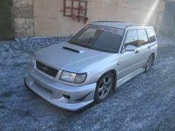 Сплиттер. Subaru Forester Subaru Libero