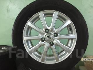 Комплект шин на литье Dunlop 175 65 R14. Летние новые. Япония. x14 4x100.00