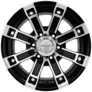 Sakura Wheels R2516. 7.5x15, 6x139.70, ET-10, ЦО 110,5мм.