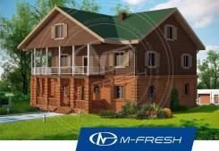 M-fresh Veranda-Da-Da! (Проект 2-этажного дома с верандами). 300-400 кв. м., 2 этажа, 7 комнат, комбинированный