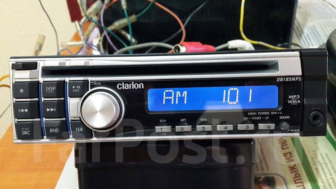 как сохранить радиостанции на автомагнитоле clarion