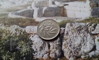 Мальта. 2 цента 1995 года. Флора.
