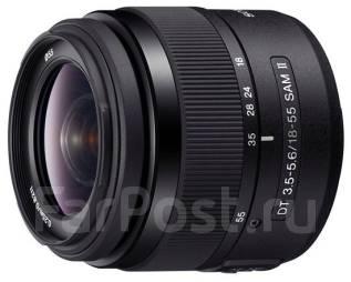 Объектив сони 18-55/3,5-5,6 SAM II. Для Sony, диаметр фильтра 55 мм