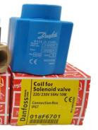 Электромагнитная катушка соленоидного клапана 018F6701 Danfoss