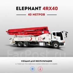 Elephant 4R40. Бетононасос Elephant 40 метров, на шасси Daewoo 2017 г., 40 м.